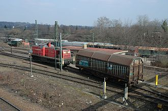 Classification yard - Image: Kornwestheim Ablaufberg 20060318