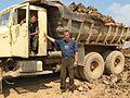 KrAZ-256 dump truck in Kazakhstan.JPG