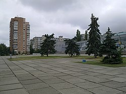 Square in Ukrainka