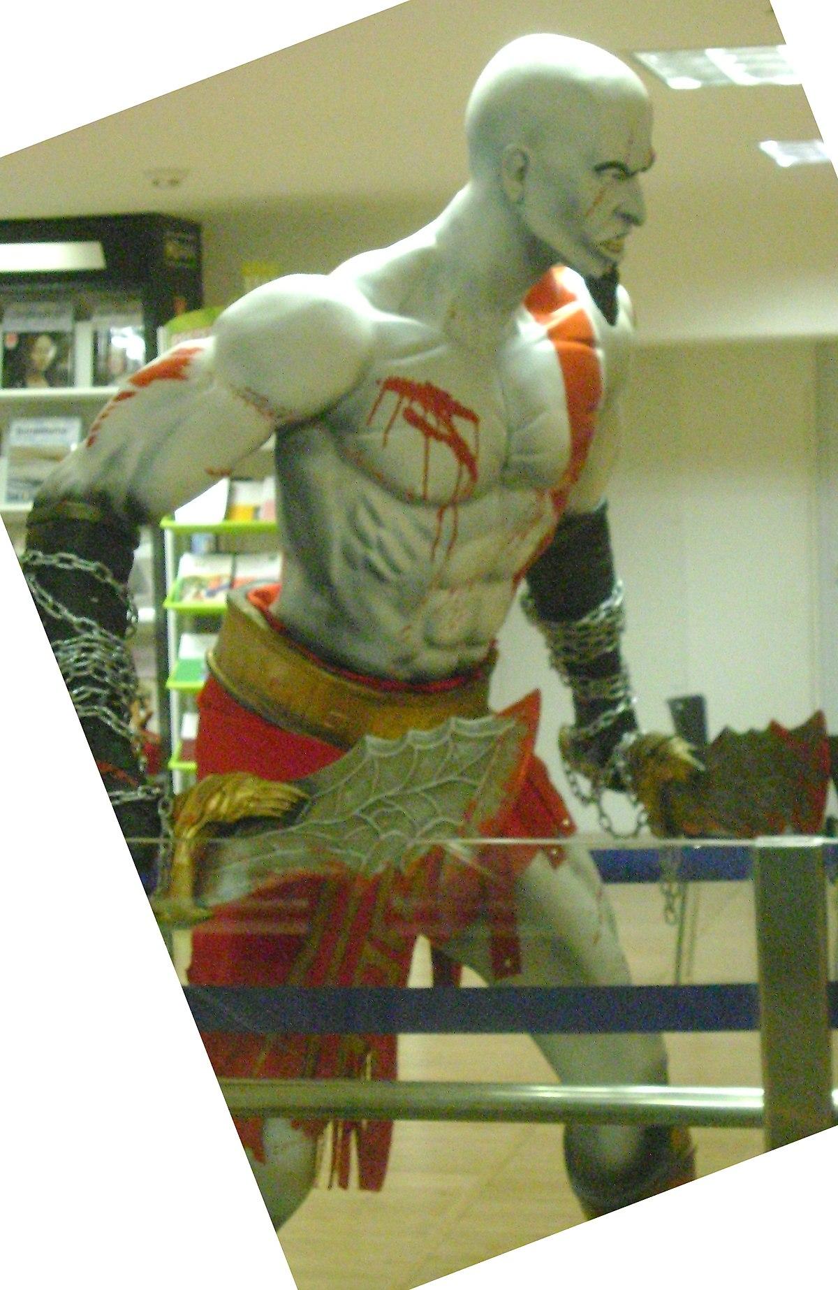 Kratos (personaje) - Wikipedia, la enciclopedia libre