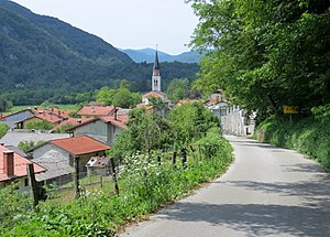 Kred, Kobarid - Image: Kred Kobarid Slovenia