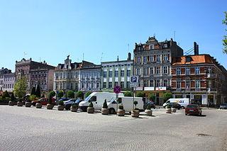 Krotoszyn Place in Greater Poland, Poland