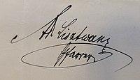 Ks Adam Lisztwan autograf Stare Bielsko.jpg
