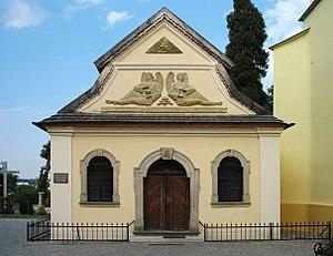Kudowa-Zdrój - The Czermna Skull Chapel, an ossuary holding thousands of skulls and skeletal remains