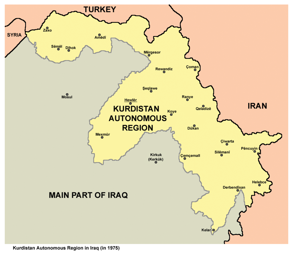 Kurdistan 1975