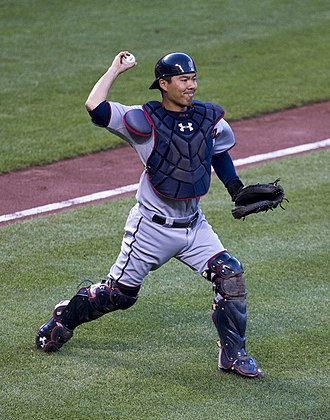 Kurt Suzuki - Suzuki with Minnesota Twins