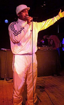 Kurtis Blow performing in Hannover, Germany on March 30, 2012