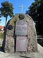 Kurzeszyn, foto 11, obelisk upamiętniający ruch oporu i ofiary II wojny.jpg