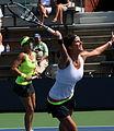 Květa Peschke and Julia Görges at the 2012 US Open.jpg