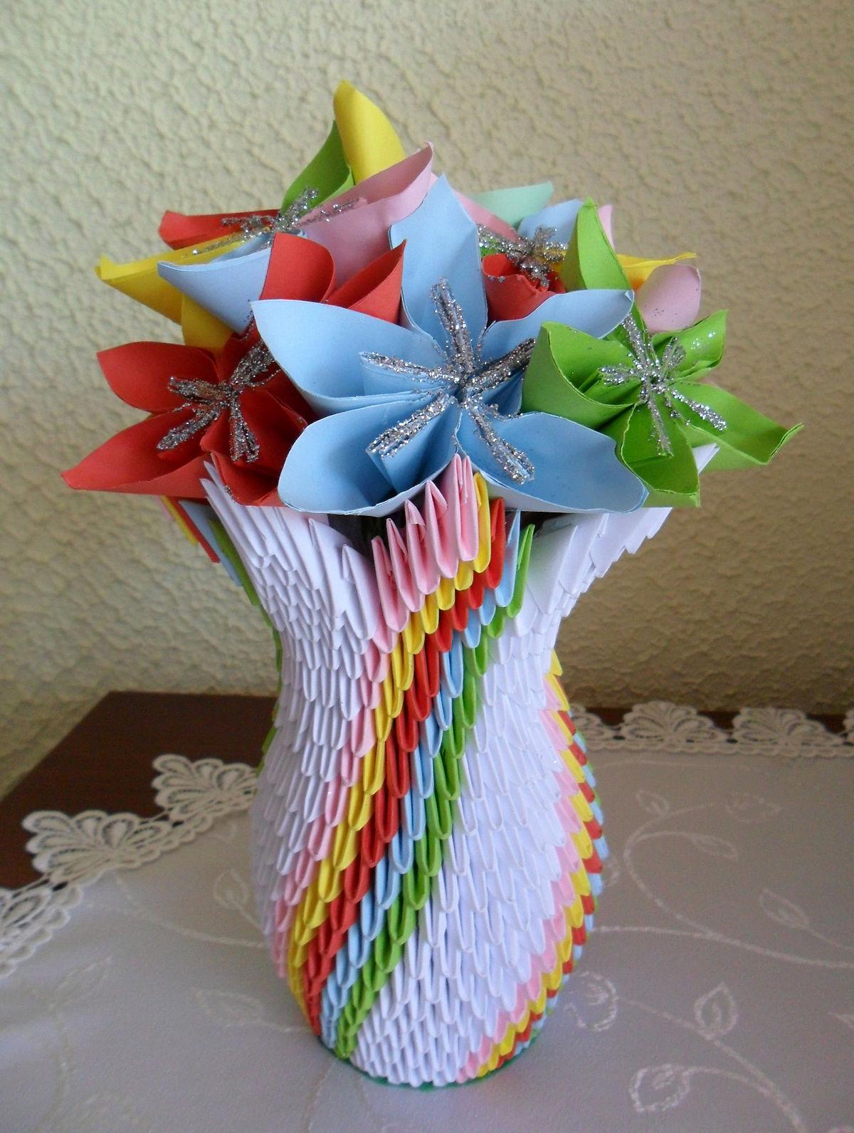 Origami modulaire — Wikipédia