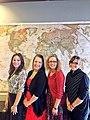 Kyrsten Sinema with interns in 2013.jpg