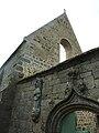 L'Aber-Wrach 2 Abbaye ND des Anges Entrée et pignon restauré de l'abbatiale.JPG