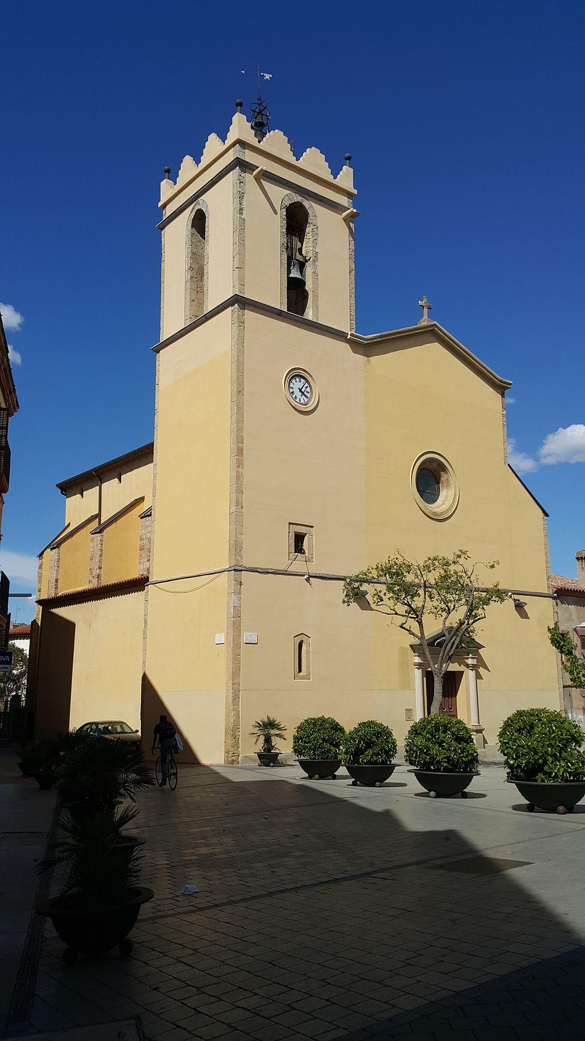 Església de Sant Vicenç (Castellbisbal) - Viquipèdia, l ...