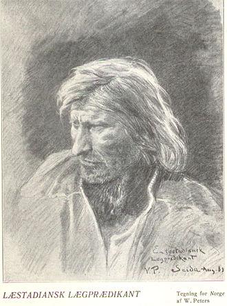 Laestadianism - Læstadian lay preacher, Finnmark, 1898