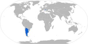 CITER 155mm L33 gun - Map with L33 operators in blue