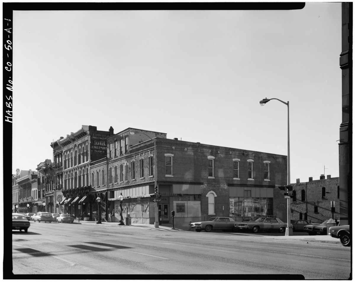 City Of Lafayette >> Larimer Square, Denver - Wikipedia