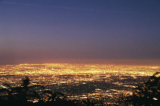Greater Los Angeles - Los Angeles Basin at dawn
