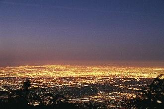 Greater Los Angeles - Los Angeles Basin at dawn