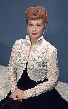 Lucille Ball American actress, comedienne and businesswoman
