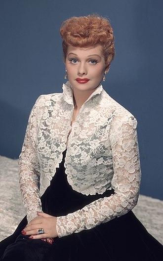 Lucille Ball - Ball circa 1955