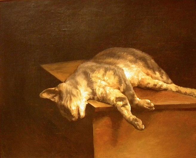 LOUVRE Museum (Le chat mort by Gericault), Paris.jpg