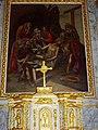 La Ferrière-sur-Risle (Eure, Fr) église Saint-Georges, retable, tableau.JPG