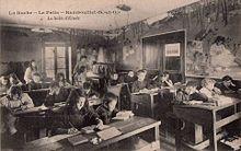 La sala de estudio.