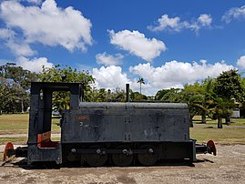 Labourdonnais Sugar Estate Limited in Mauritius - Train.jpg