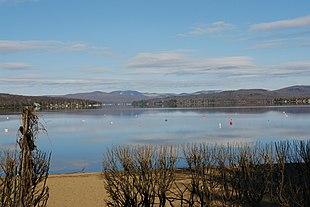 Lake Saint-Joseph in Fossambault-sur-le-Lac