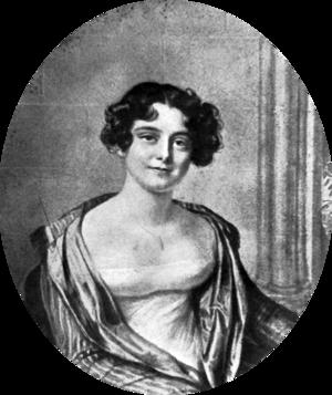Jane Franklin - Portrait by Amelie Romilly