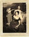 Lady Acland (Arthur Henry Dyke Acland; Lydia Elizabeth (Hoare), Lady Acland; Sir Thomas Dyke Acland, 11th Bt) by Samuel Cousins.jpg