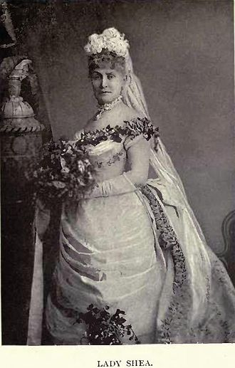 Joseph Bouchette - Lady Louisa Shea in the costume worn by her when presented at court by Elliott & Fry
