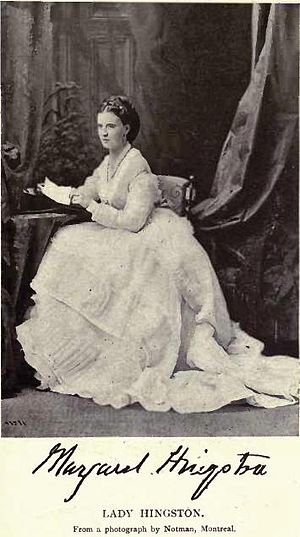 William Hales Hingston - Lady Margaret Hingston by William Notman