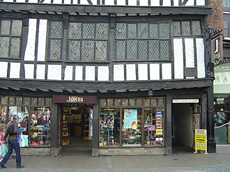 Snickelways of York - The entrance to Lady Peckett's Yard, leading through the buildings to the right of the shop