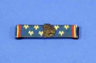 Lafayette Flying Corps - La Fayette Flying Corps service ribbon