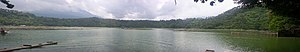 Lake Calibato - Panorama of the lake