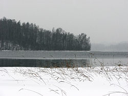 Winter am Sivers-See
