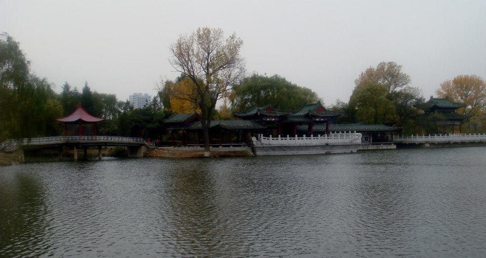 Lake view at Anshan's 219 Park
