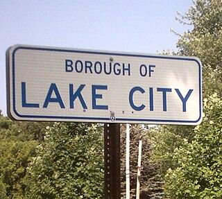 Lake City, Pennsylvania Borough in Pennsylvania, United States