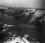 Lamplugh Glacier, tidewater glacier and icefield, September 12, 1973 (GLACIERS 5584).jpg