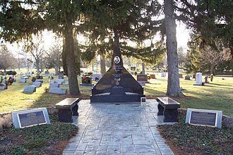 Lance Sijan - The Lance Sijan Memorial Site at Arlington Park Cemetery