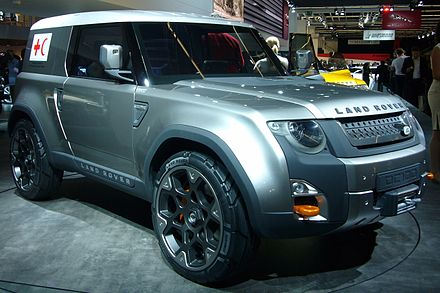Land rover defender wikiwand land rover dc100 freerunsca Image collections