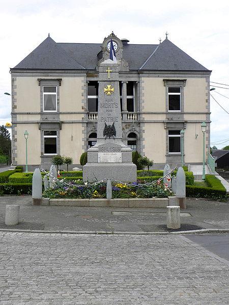 Monument aux morts de Landivy (53).