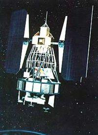 Artist's rendering of Landsat 2.