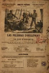 Frederic Soler i Hubert: Las píldoras d'Holloway ó La pau d'Espanya