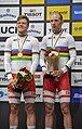 Lasse Norman Hansen and Michael Mørkøv (2020-03-01) (1) - UCI Track World Championships 2020.jpg