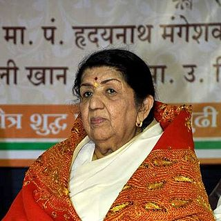 Lata Mangeshkar Indian singer