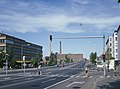 Lauttasaarentien alkupäätä ja Lauttasaaren silta - D737 - hkm.HKMS000005-000017ck.jpg