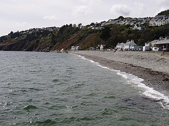 Laxey - Beach and promenade at Laxey