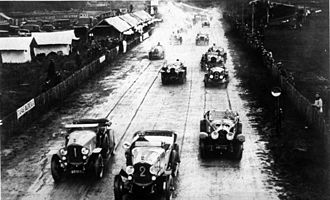 1923 24 Hours of Le Mans - Start of the race
